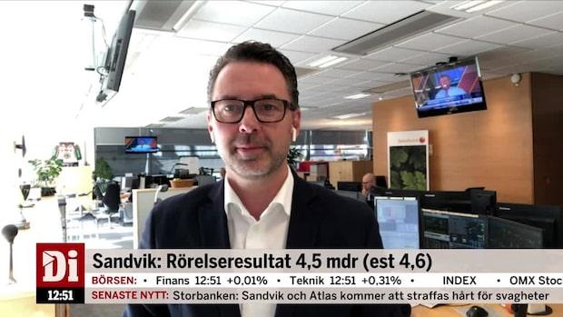 """Fredrik Warg: """"Väldigt starka signaler från Sandvik"""""""