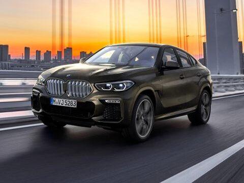 Utseendemässigt skiljer sig nya BMW X6 markant från andra modeller.