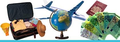 Vill du ut och resa - trots lågkonjunktur? Här är 40 spartips!