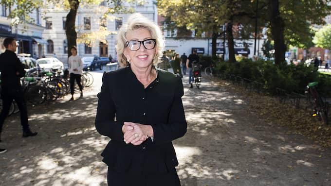 """""""Fantastiskt, jag älskar mitt Skåne"""" säger Karin Laserow om att bli nominerad till Årets Skåning 2017. Foto: ALEXANDER DONKA / EXPRESSEN"""