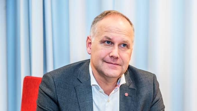 Vänsterpartiets Jonas Sjöstedt. Foto: ANNA-KARIN NILSSON / ANNA-KARIN NILSSON EXPRESSEN