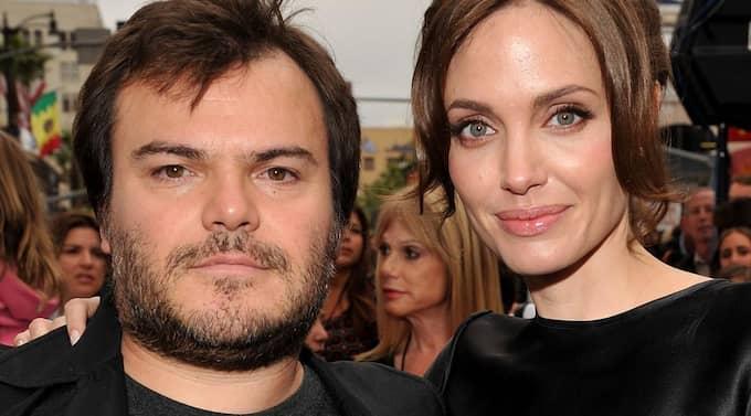 """Jack Black och Angelina Jolie är båda med i """"Kung fu panda 2"""". Foto: Lester Cohen"""