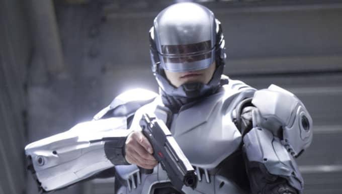 Svenske Joel Kinnaman som Robocop. Foto: MOVIESTORE/REX