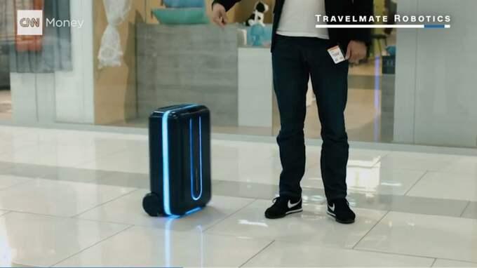 Väskan är än så länge bara på prototypstadiet. Foto: Skärmdump/CNN