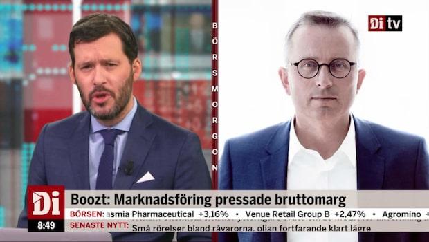 Boozts vd Herman Haraldsson om bolagets rapport