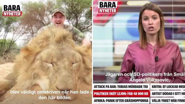 SD-politiker sköt lejon –får 48000 kronor