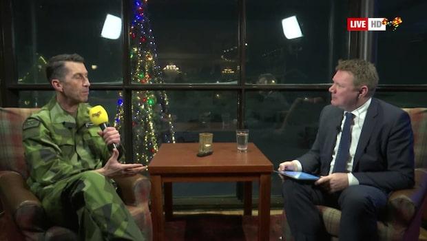 Bara politik: Se intervjun med ÖB Micael Bydén från Folk & Försvar