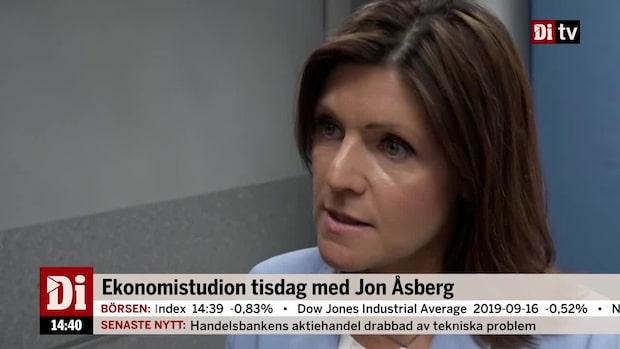 """Arbetslösheten högsta på fyra år – Eva Nordmark: """"1,3 miljarder i satsningar"""""""