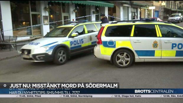 Misstänkt mord på Södermalm i Stockholm