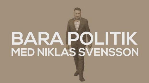 Bara politik med Niklas Svensson –varje onsdag