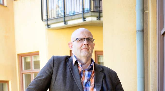Börge Hellström är död. Författaren blev 59 år gammal. Foto: Hampus Hagstedt