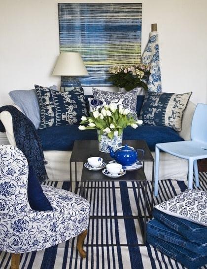 BILDSPECIAL Sommarfräscht med blått och vitt Leva& bo Expressen Leva& bo