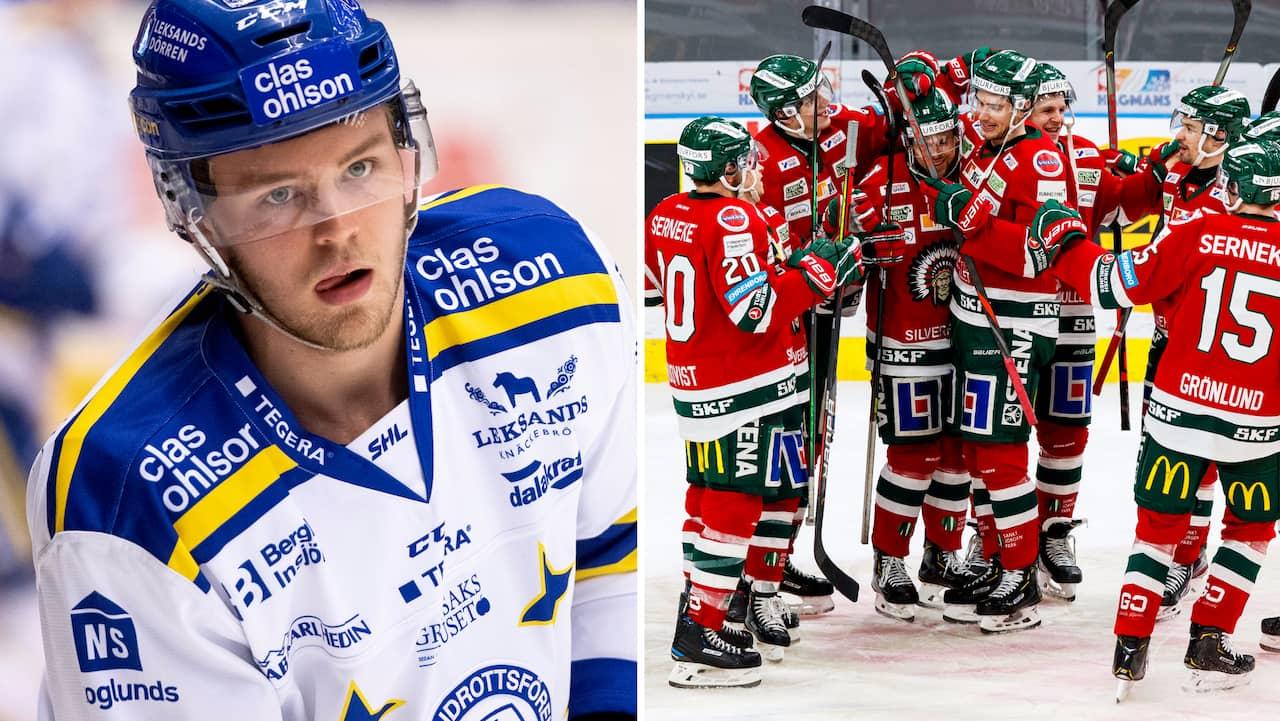 """KLART: Frölunda värvar backtalang från Leksand: """"Kul utmaning"""""""