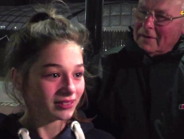 """Emilia var på konserten: """"Jag bara skrek, det var väldigt läskigt"""""""