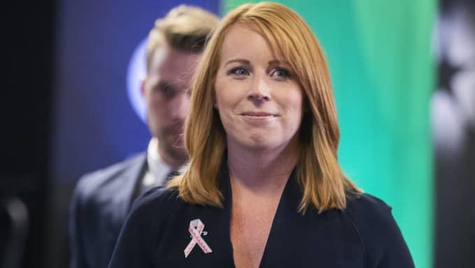 Även Centerpartiet, med Annie Lööf i spetsen, vill att försvarsberedningen kallas in. Foto: Nils Petter Nilsson