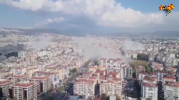 Kraftig jordbävning har drabbat Turkiet och Grekland