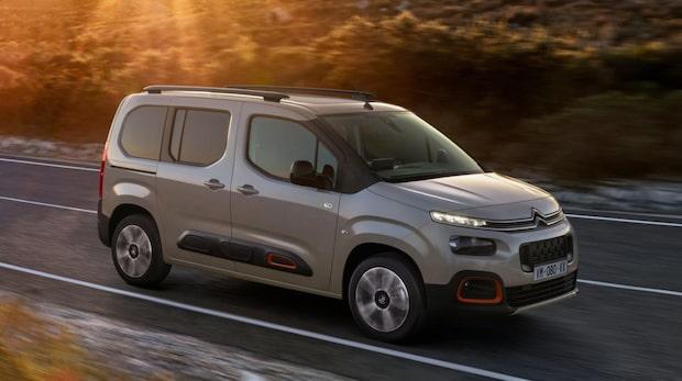TEST: Vi kör Citroën Berlingo, Peugeot Rifter och Opel Combo