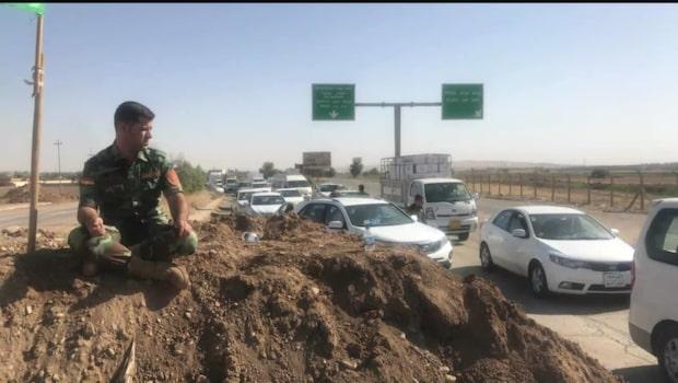Magda Gad i Irak: Sammandrabbningar mellan kurder och irakiska armén