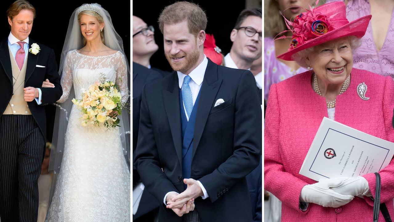 43fca81e0d25 Harry och Meghan: Prinsen på kungligt bröllop utan sin fru