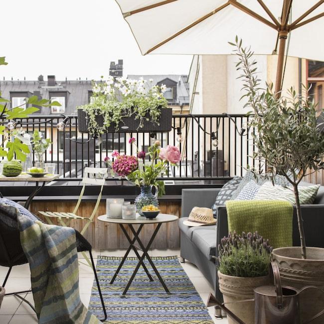 7 härliga tips hur du inreder balkongen