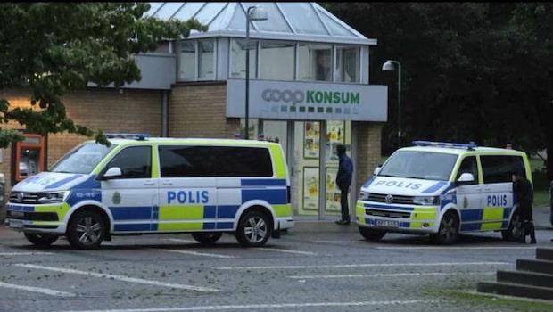 Coop-butik rånad av gärningsmän med masker