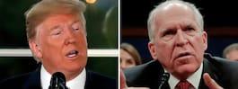 Trump drar tillbaka säkerhetsklassning  av Brennan