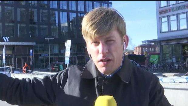 Knivattack vid hotell i Stockholm