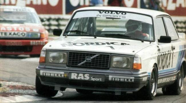 Volvo 242 Grupp A – vann europamästerskapen i standardvagnracing 1985.