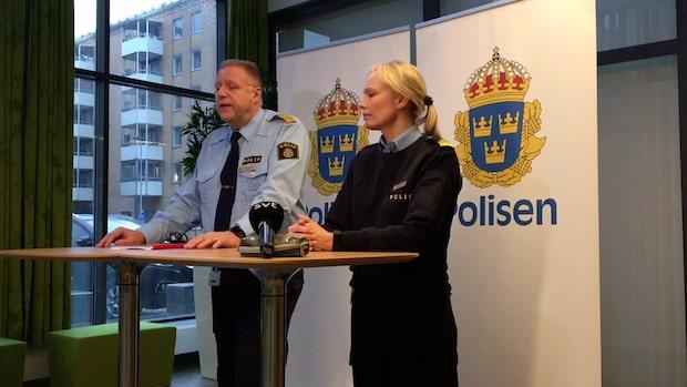 Två personer anhållna för attacken mot polisens garage