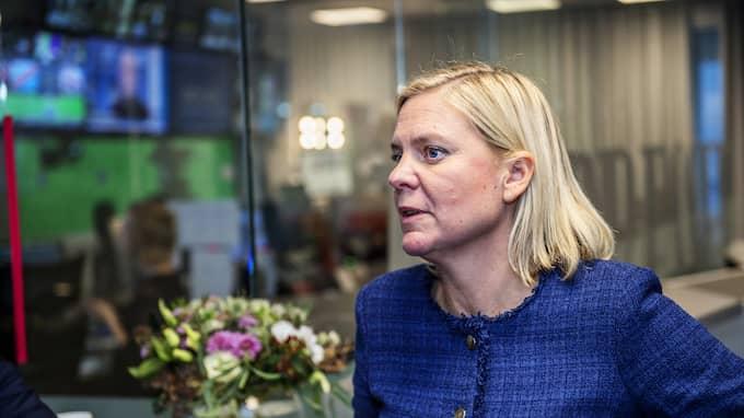 Magdalena Andersson. Foto: ANNA-KARIN NILSSON / ANNA-KARIN NILSSON EXPRESSEN