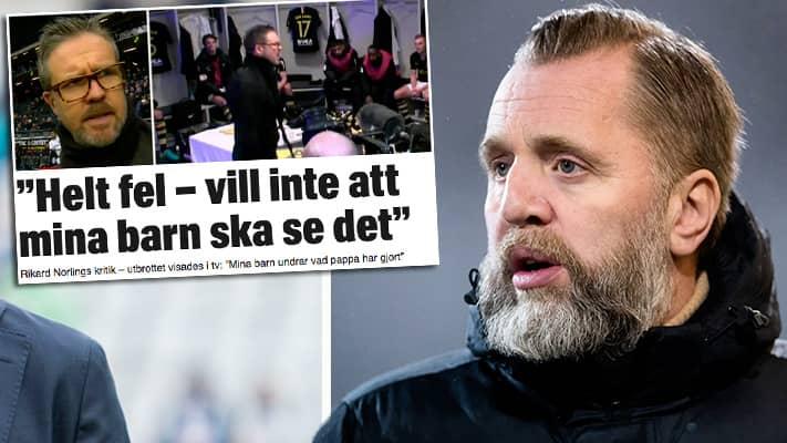 Cheferna i möte efter Norlings utbrott i tv