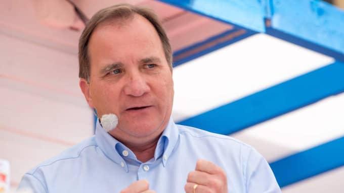 """Stefan Löfven (S) kallades för """"Judas"""" i ett inlägg som SD-politikern delade. Foto: Julia Reinhart"""