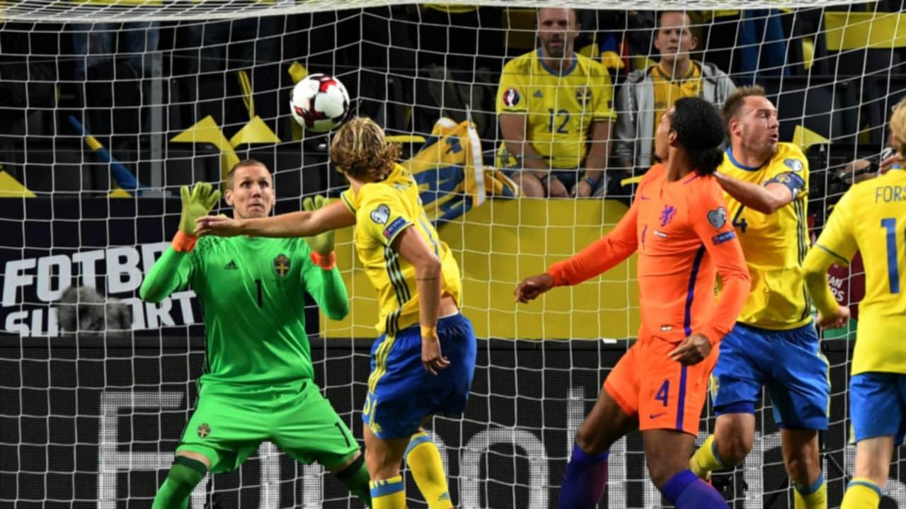 Robin olsen hyllas efter f rsta matchen landslaget for Robin olsen squadre attuali