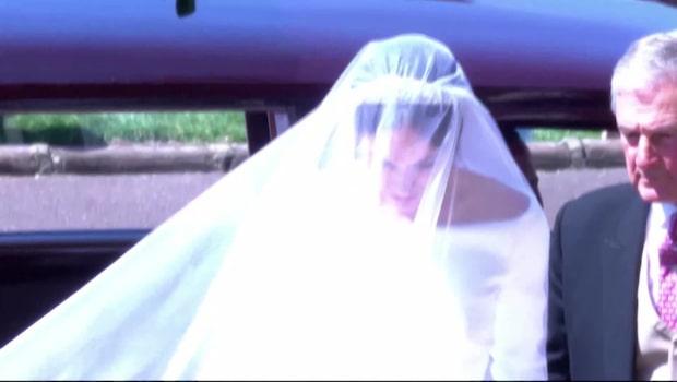 Meghans bröllopsklänning – som hela världen talar om