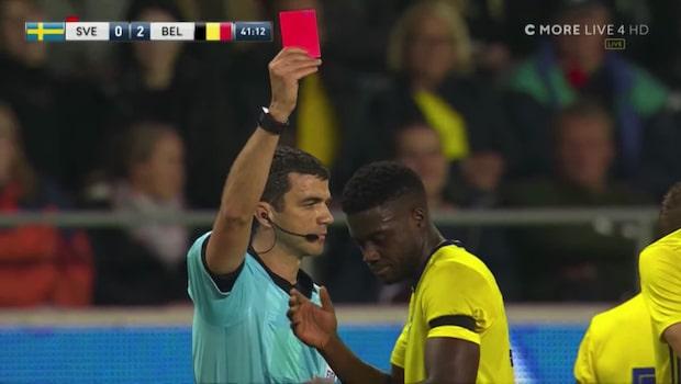 Sveriges mardrömsminuter mot Belgien i U21