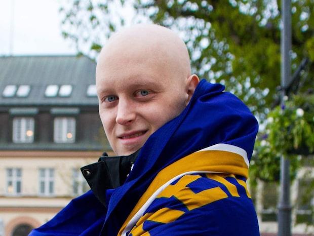 Växjö-supportern Andreas Waldo avliden i cancer
