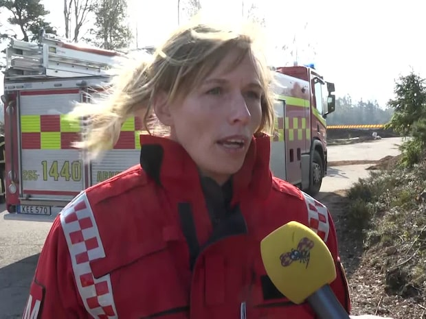 """Melissa Millbourn, räddningstjänsten: """"Risk för flygbränder"""""""