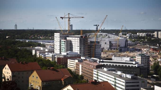 Enligt EU:s bedömning är bostadspriserna i Sverige högre än vad som är ekonomiskt motiverat. Foto: Erika Berglund