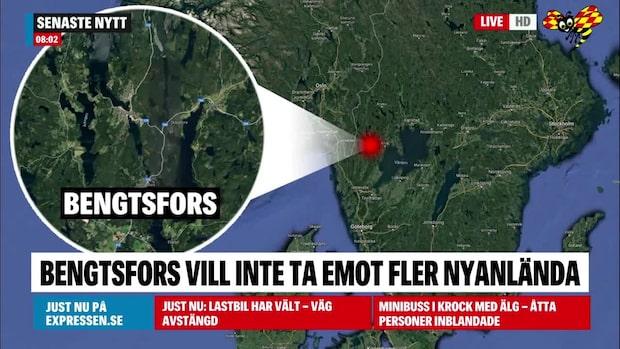 Efter nödropet: Bengtsfors vill helt sluta ta emot nyanlända