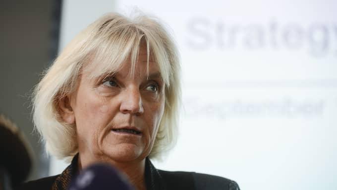 Telias styrelseordförande Marie Ehrling sa i september att det kostar att göra fel. Foto: Vilhelm Stokstad/TT NYHETSBYRÅN