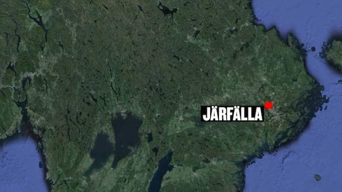 Händelsen inträffade i Järfälla utanför Stockholm.