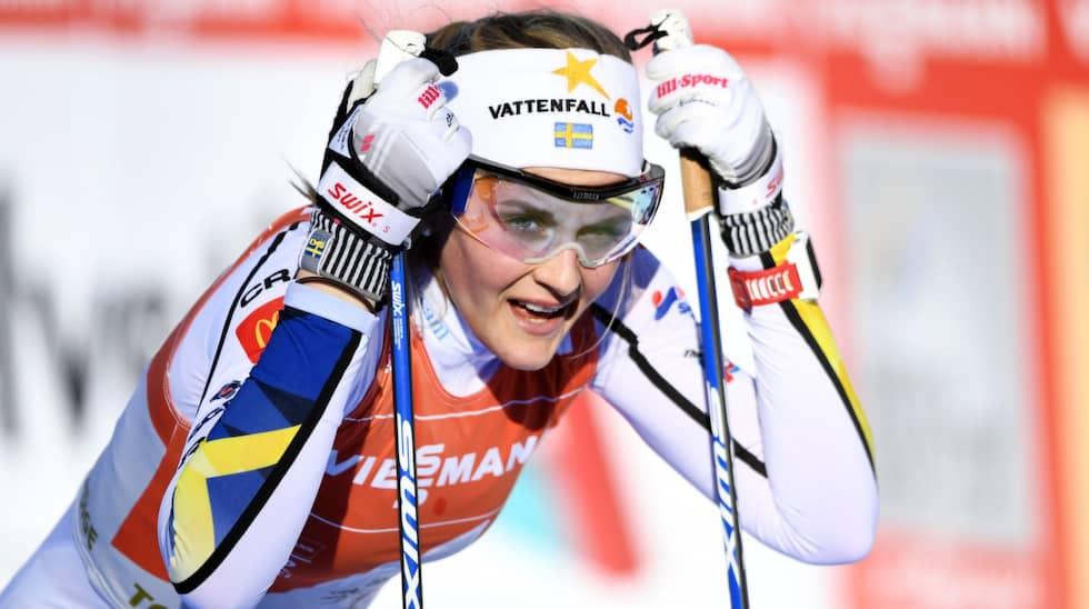 Stina Nilsson. Foto: Carl Sandin / BILDBYRÅN