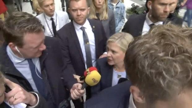 Bara politik: Magdalena Andersson (S) om budgeten