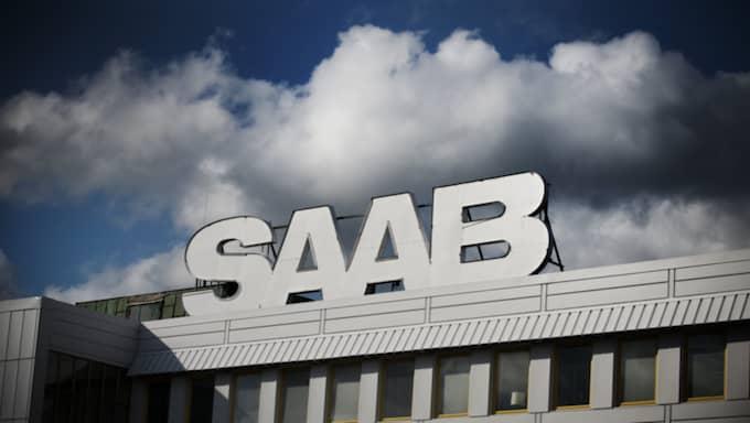 Saab-fabriken i Trollhättan. Foto: Annika Af Klercker