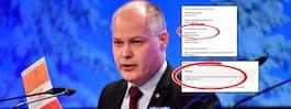 Missen på regeringssajten – om Johanssons ministerpost