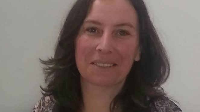 Angela Elek, Värmestugans ordförande. Foto: Privat