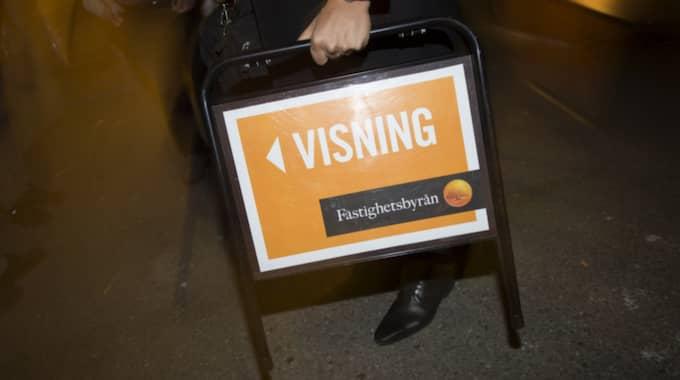 I Stockholm i augusti minskade snittpriset för större lägenheter, över 80 kvadratmeter, med 5 procent. Foto: Fredrik Sandberg/TT