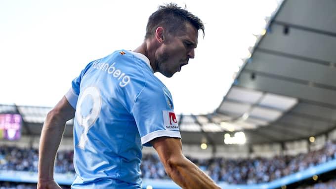 Markus Rosenberg, Malmö FF:s absolut viktigaste medarbetare. Foto: PETTER ARVIDSON / BILDBYRÅN