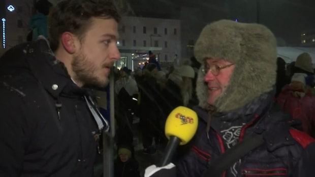 Svenska klubben i Lahtis på plats under invigningen