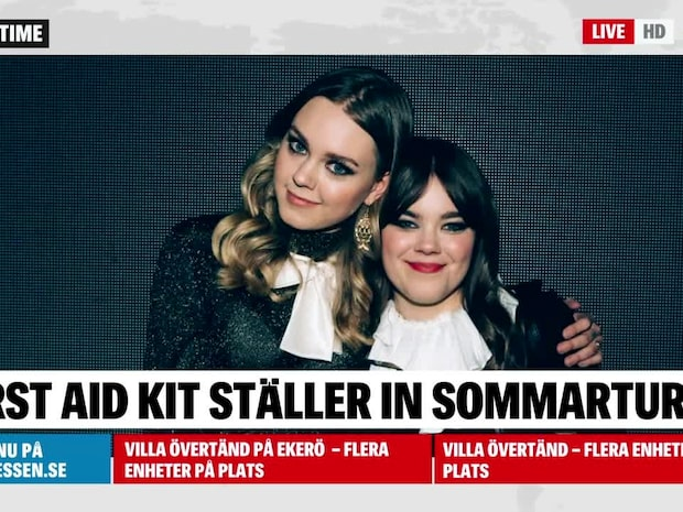 First Aid Kit ställer in hela turnén